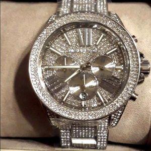 Michael Kors Silver Glitz Wren Watch